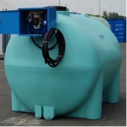 Serbatoio 3.000 litri con pompa e contalitri